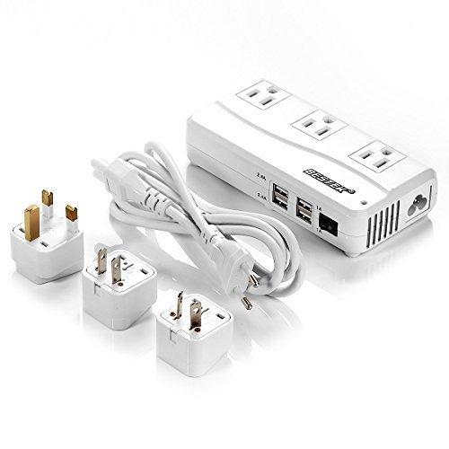 BESTEK Portable 6A Universal Travel Adapter