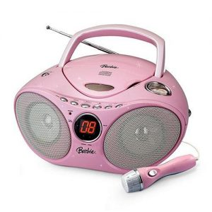 Barbie CD Player and Karaoke Boombox