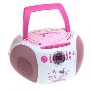 Sanrio Hello Kitty CD Boombox with AM-FM Stereo Radio